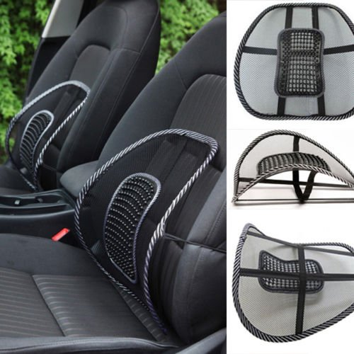 J GO CAR CHAIR SEAT BACK REST With Mesh Support New Edition